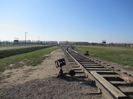 ビルケナウ線路