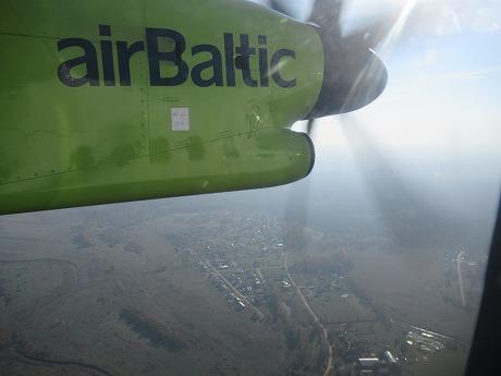 Air Balticプロペラ機