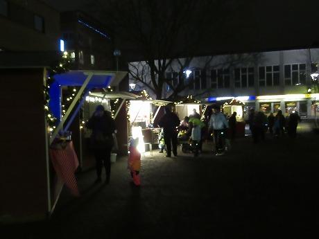 クリスマスマーケット夜その1