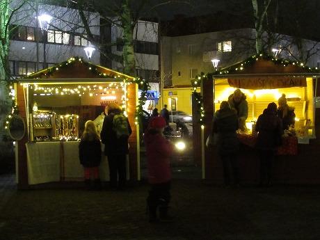 クリスマスマーケット夜その2