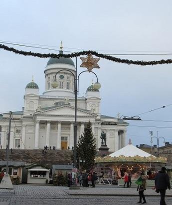大聖堂とクリスマスマーケット