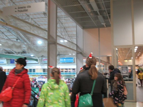 クリスマスマーケット帽子