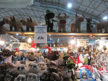 クリスマスマーケット置物