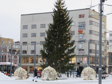 Vaasaクリスマスツリー