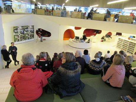 Apila図書館観客
