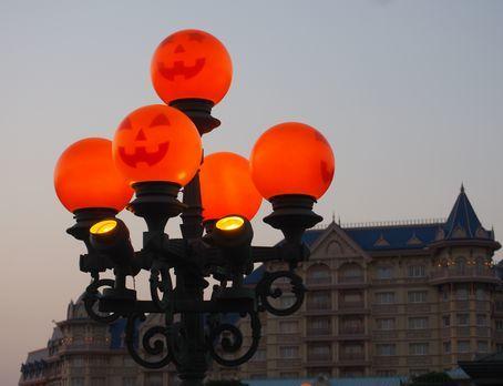 ランプもハロウィン