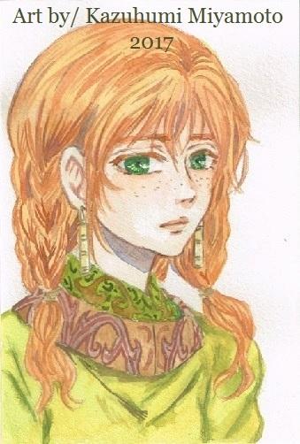 トーラエ。「天星神話」の遊牧民族は複数いますが、彼女はその中で有力な部族の娘です。