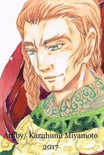 イドゥルグ。トーラエの兄。わりと見たまんまの粗暴げな性格です。