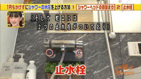 シャワーの止水栓
