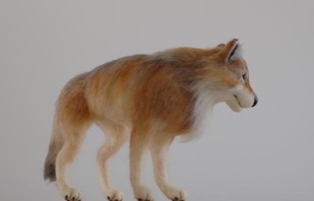 オオカミ展2017ロボ横