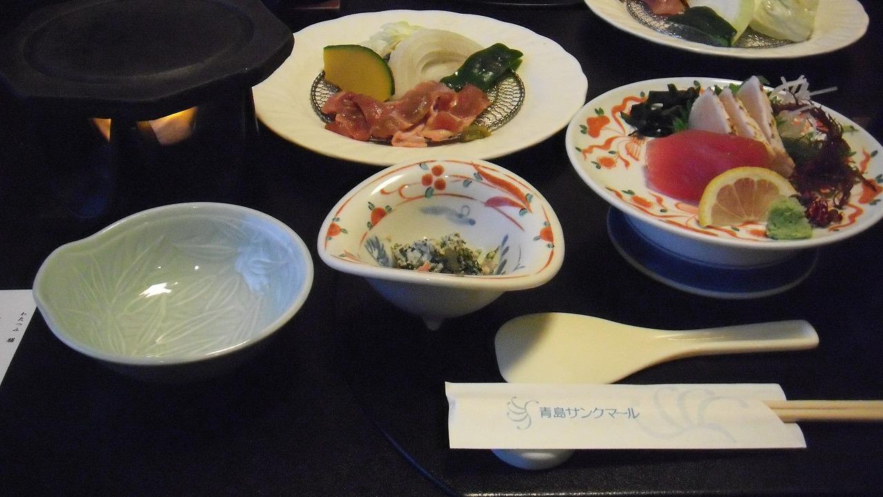 青島サンクマール 食事編 (2012年7月)