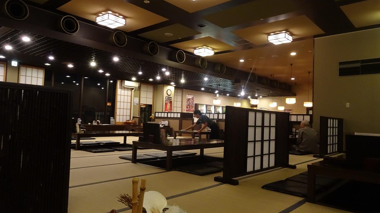 秋田天然温泉 ルートイングランティア 食事編 (2017年7月)