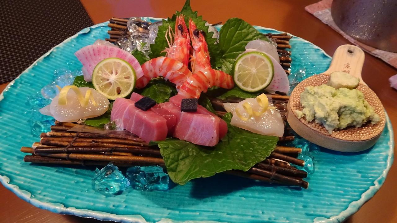 海のしょうげつ 空の一 食事・感想編 (2017年7月)