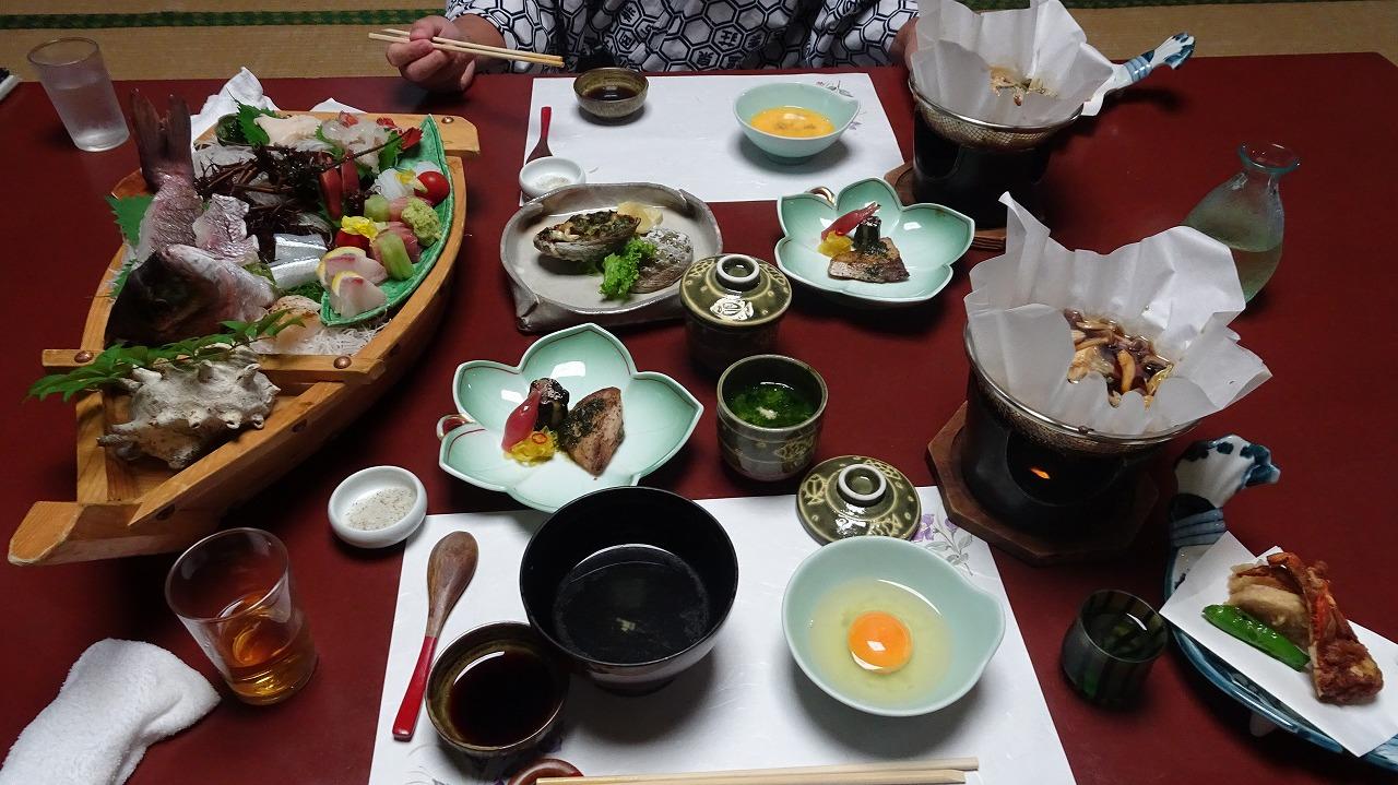伊豆長岡温泉 伊古奈荘 食事編 (2017年8月)