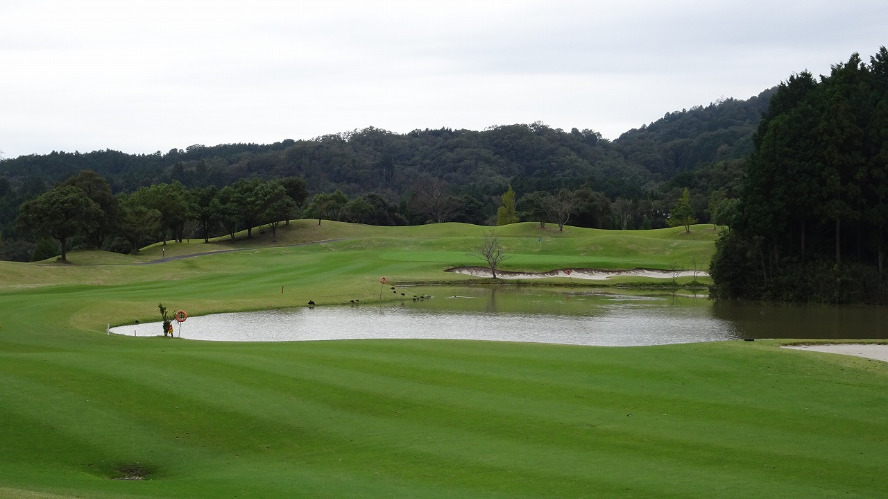 鈴鹿の森ゴルフクラブ (2017年10月)