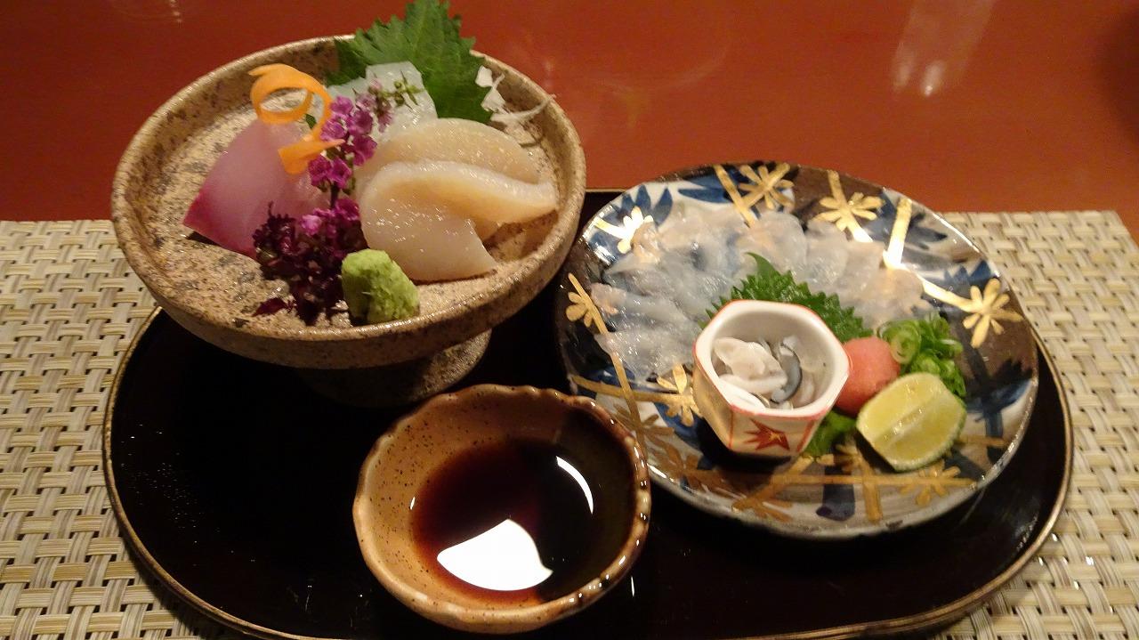 海のしょうげつ 食事編 (2017年10月)