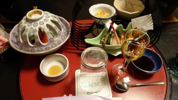 銀波荘食事 (1)