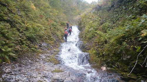 パンケニワナイ沢滝4
