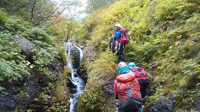 パンケニワナイ沢滝7