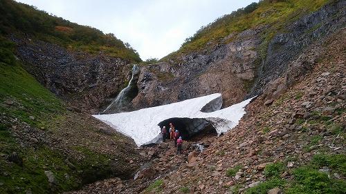 パンケニワナイ沢大滝1
