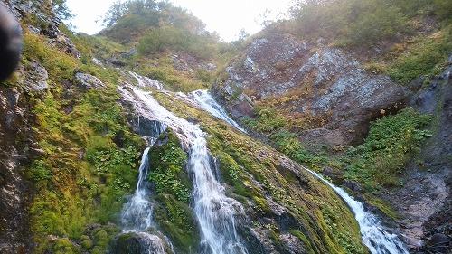小屋の沢下降滝4
