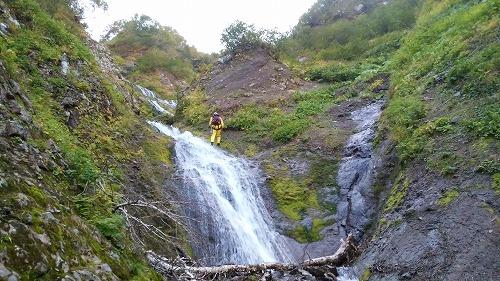 小屋の沢下降滝6