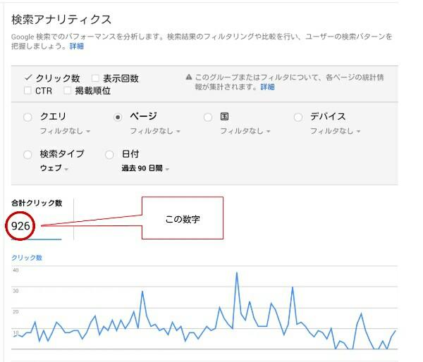 search consoleのデータの出し方2