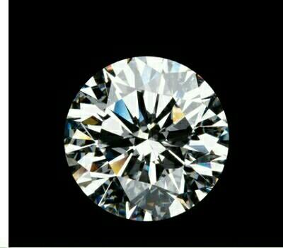 ダイヤモンドを上から見た画像