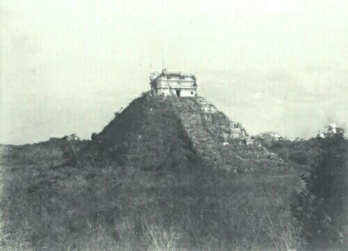 発掘前のチチェン・イッツア2
