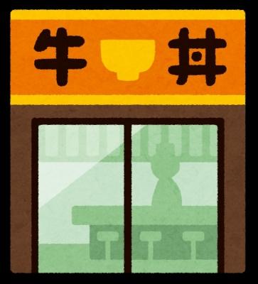 牛めしチェーン店