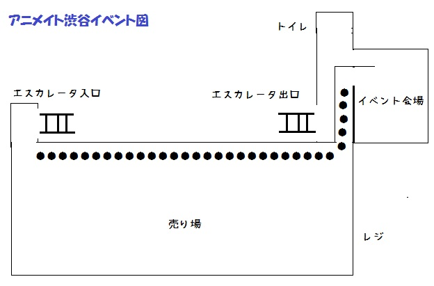 アニメイト渋谷3