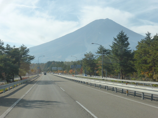 秋の富士五湖周辺観光~山中湖編~